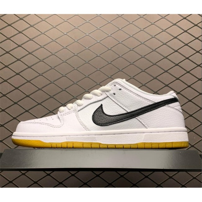 Mens/Womens Nike SB Dunk Low Orange Label White Gum On Sale