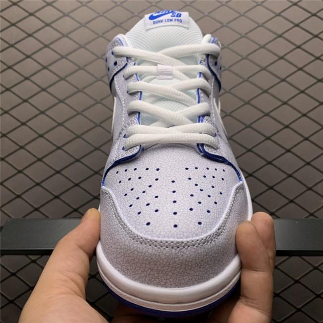 Mens/Womens Nike SB Dunk Low Premium White Game Royal
