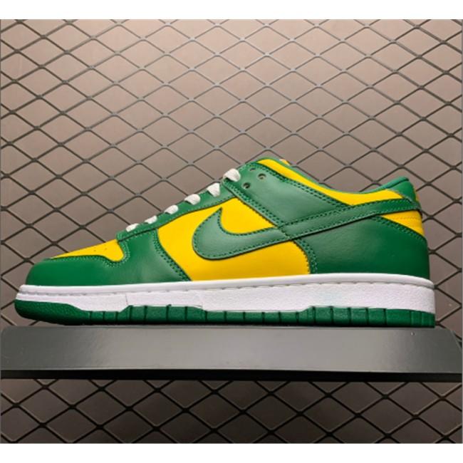 Mens/Womens Nike SP Dunk Brazil Pine Green On Sale