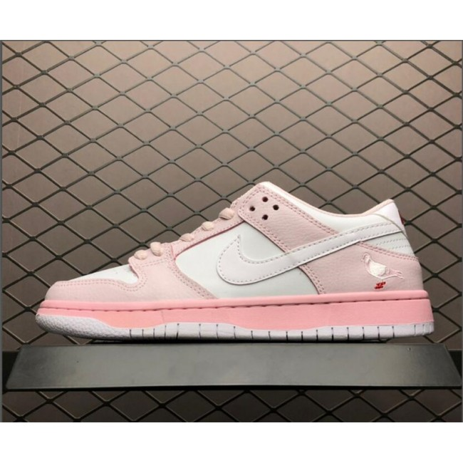 Womens Nike Dunk SB Low Elite Pink White BV1310-012