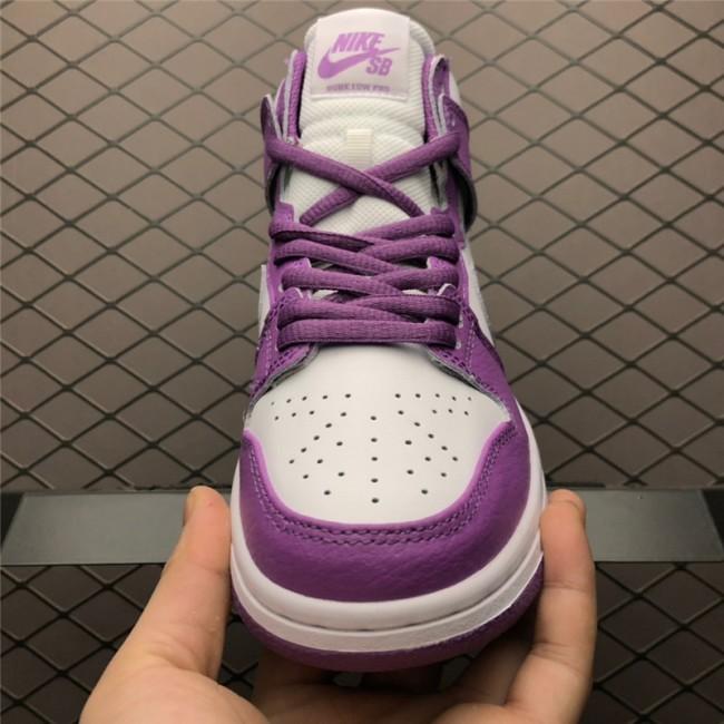 Womens Nike SB Zoom Dunk High PRO Purple White