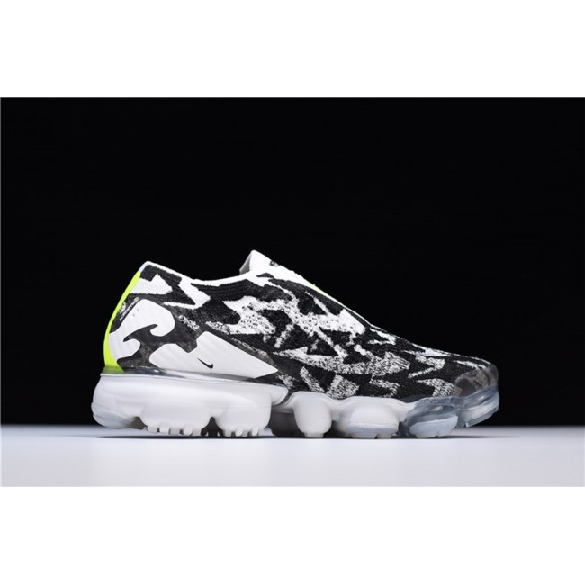 Mens ACRONYM x Nike VaporMax Moc 2 Light Bone Black Shoes