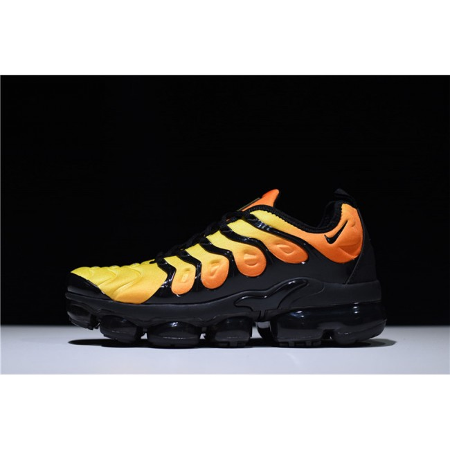 Mens Nike Air Vapormax Plus TM Black Orange