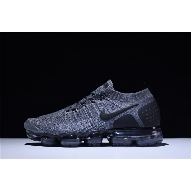 Mens/Womens Nike Air VaporMax Flyknit 2 Dark Grey Wolf Grey Black