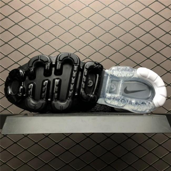 Mens Nike Air VaporMax Flyknit 2 Black White-Grey