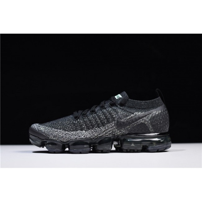 Mens Nike Air VaporMax Flyknit 2.0 Black Black-Dark Grey Online