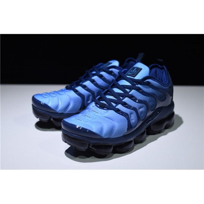 Mens New Nike Air VaporMax Plus Photo Blue Sneakers