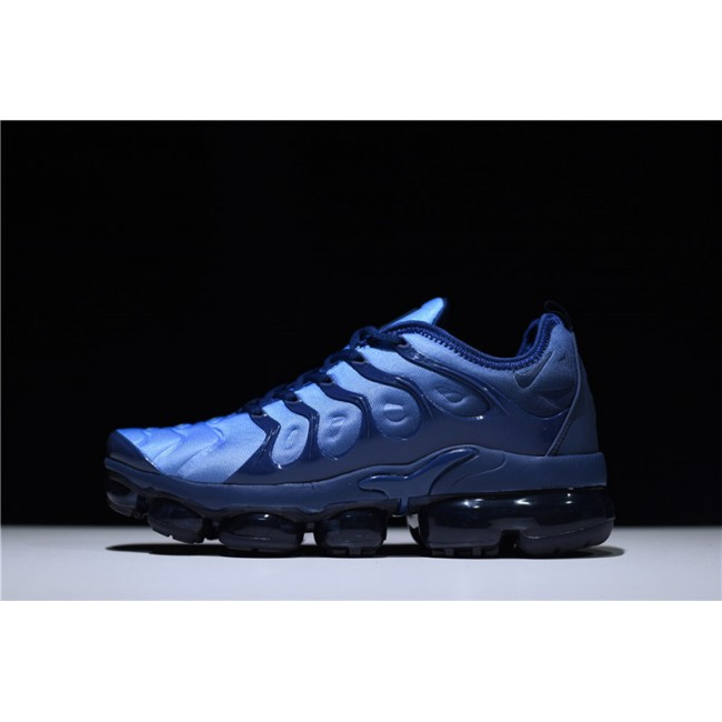 Mens New Nike Air VaporMax Plus Photo Blue Sneakers