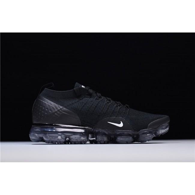 Mens Nike Air VaporMax 2.0 Black White Dark Grey