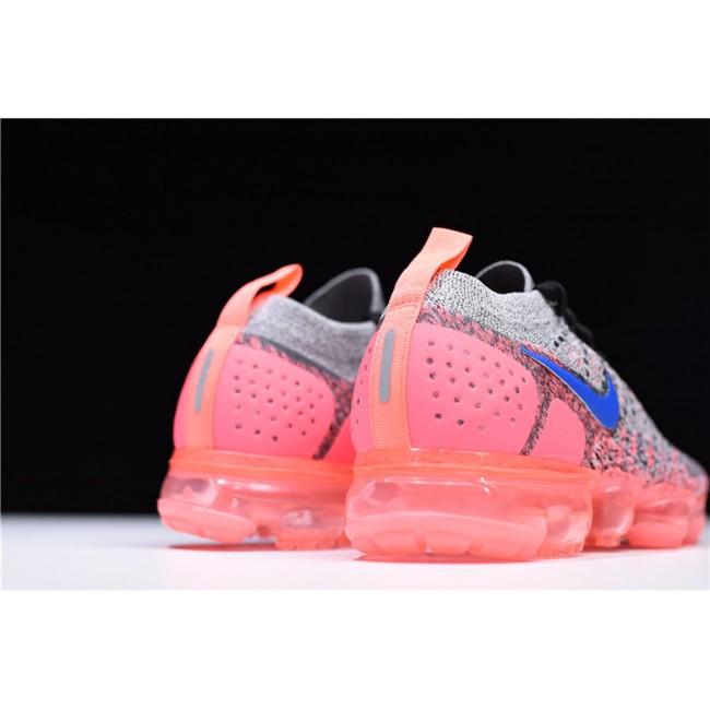 Womens Nike Air VaporMax 2.0 Grey Ultramarine-Hot Punch
