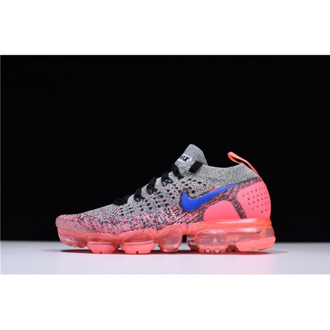 Womens Nike Air VaporMax 2.0 Grey Ultramarine-Hot Punch