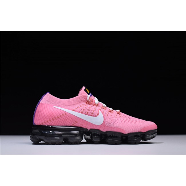 Womens Nike Air Vapormax Flyknit 2.0 Pink White Running