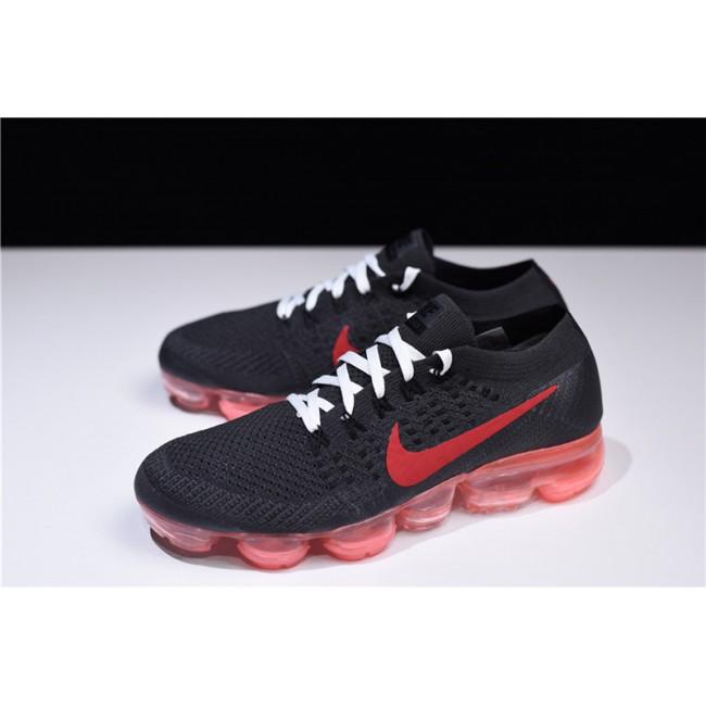 Womens NikeLab Air VaporMax Flyknit Black Red