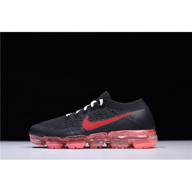 Womens NikeLab Air VaporMax Flyknit Black Red