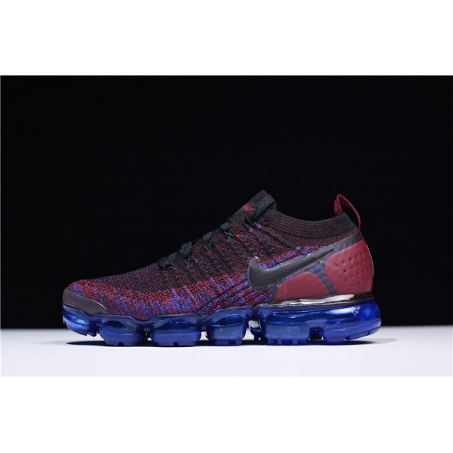 Womens Nike Air VaporMax Flyknit 2 Team Red Running Shoes