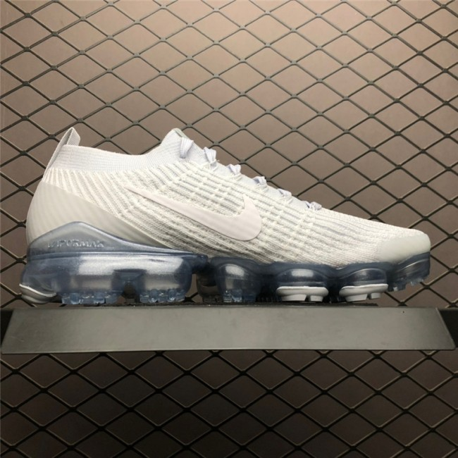 Mens/Womens Nike Air VaporMax Flyknit 3.0 White Trainers