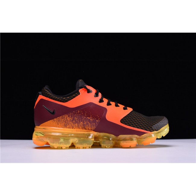 Mens Nike Air VaporMax CS Total Crimson Black