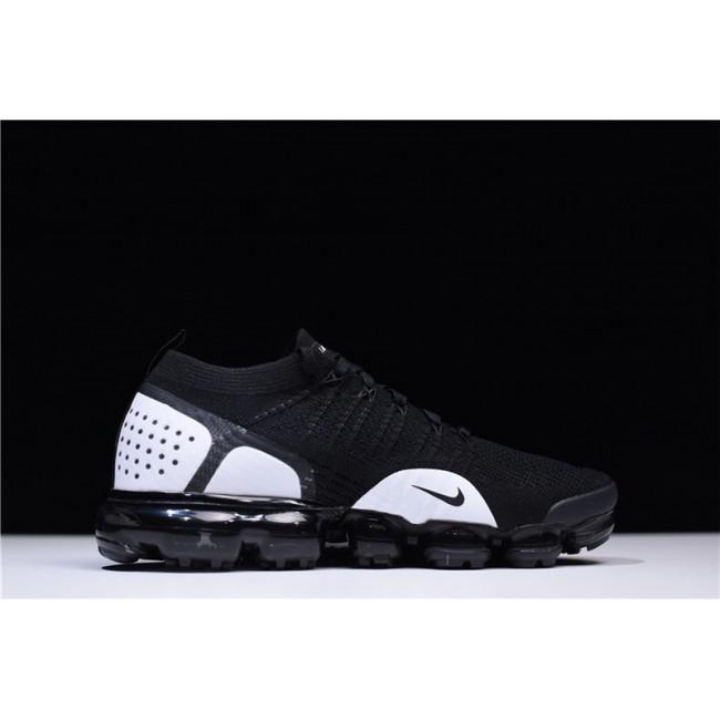 Mens/Womens Nike Air VaporMax Flyknit 2.0 Black-White