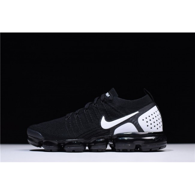 Mens/Womens Nike Air VaporMax Flyknit 2.0 Black-White