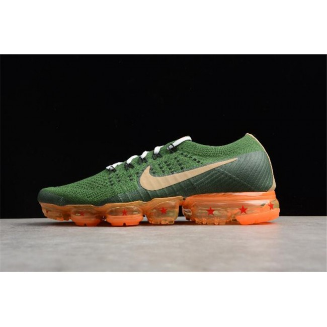 Mens Dragon Ball Super x Nike Air VaporMax Flyknit Dark Green