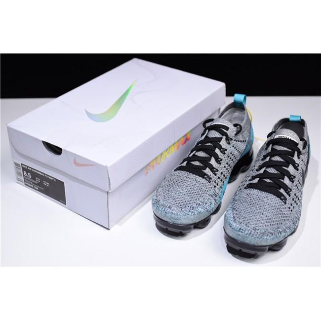 Mens Nike Air VaporMax 2.0 Black Dusty Cactus-Hyper Jade