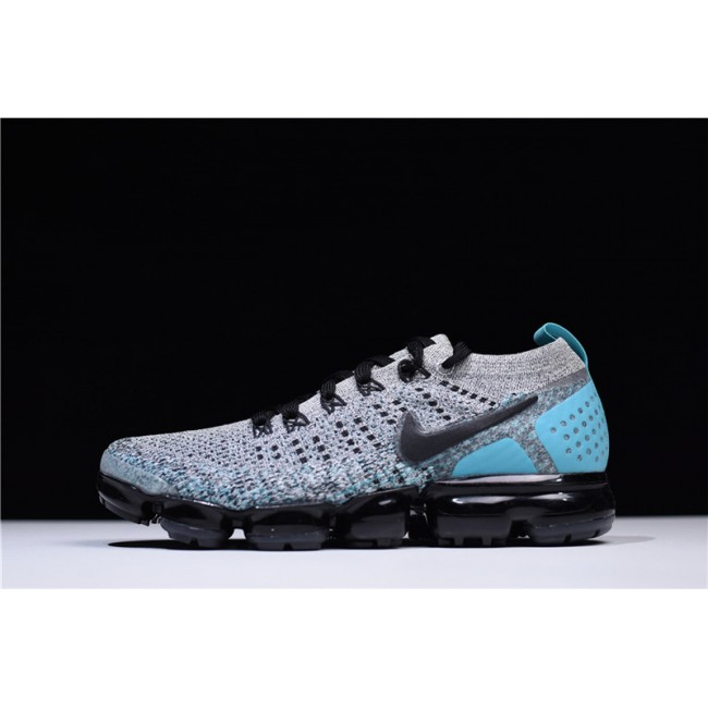 Mens Nike Air VaporMax 2.0 Black Dusty Cactus-Hyper Jade