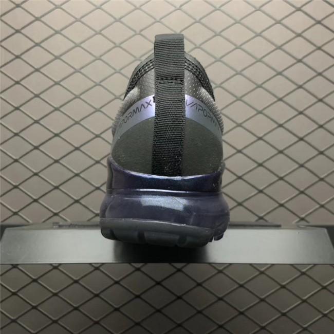 Mens Nike Air VaporMax Flyknit Black Blue