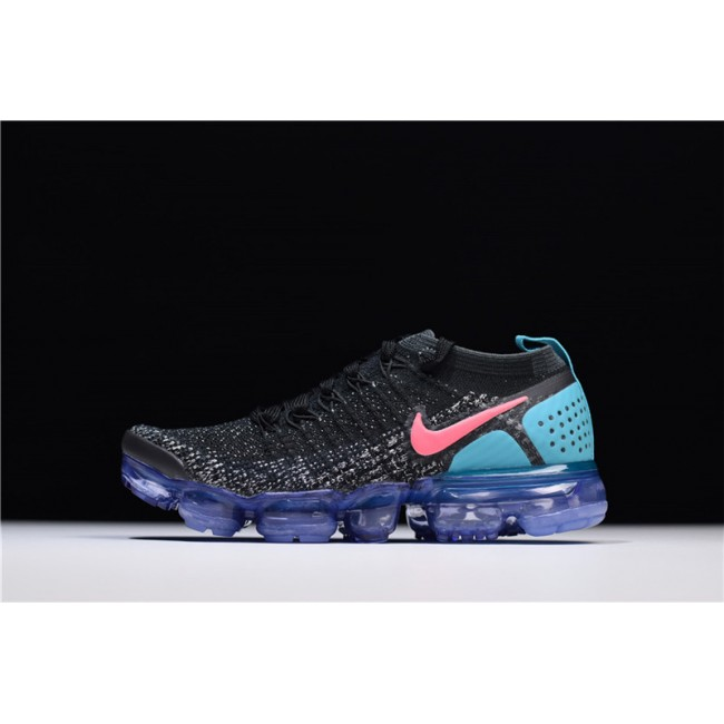 Mens/Womens Nike Air VaporMax 2.0 Black Hot Punch-White-Dusty Cactus