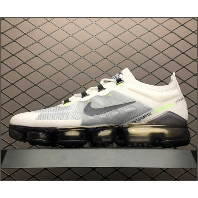 Mens Nike Air VaporMax PRM Lime Blast White Dark Grey