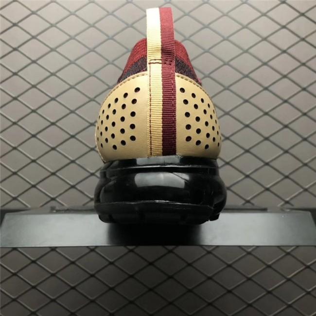 Mens/Womens Nike Air VaporMax Flyknit 2.0 NRG Team Red-Black-Vachetta Tan