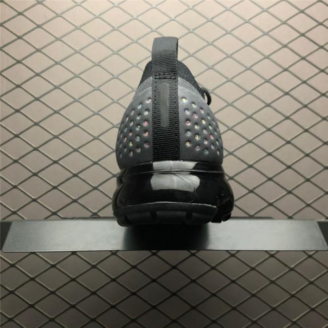 Mens/Womens Nike Air VaporMax Flyknit 2.0 Black Multi-Color Shoes
