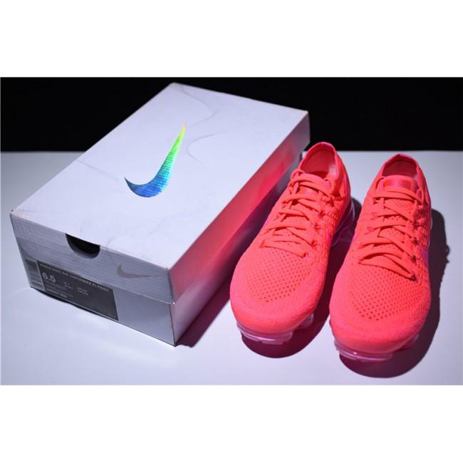 Womens Nike Air VaporMax Flyknit Hyper Punch Pink Blast Size