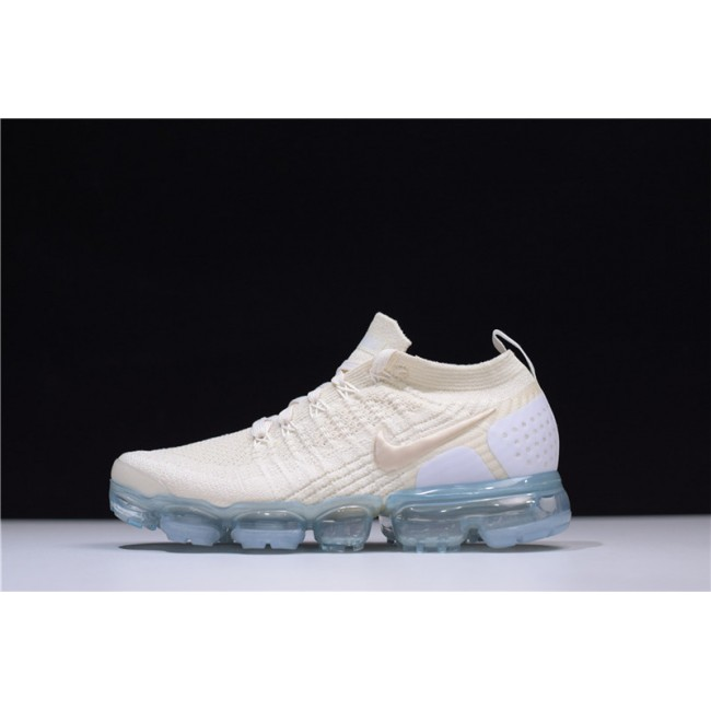Womens Nike Vapormax Flyknit 2.0 Light Cream White Metallic Gold